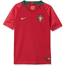 Nike 2018 Portugal Stadium Home - Partes de Arriba de Ropa Deportiva para  fútbol (Niño b17fc0f85b08d