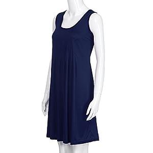 Vestito Lungo Maxi da Donna in Chiffon da Donna Senza Maniche con Cintura Donne Lunga Vestito da Cocktail da Sera Elegante Damigella d'Onore