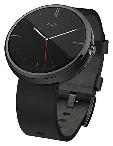 Motorola Moto 360 Stainless Steel Smartwatch and Heart Rate/Activity Tracker with Bluetooth...