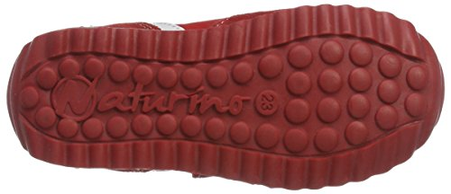 Naturino - Naturino Isao Vl., Pantofole Bambino Rosso (Rot)