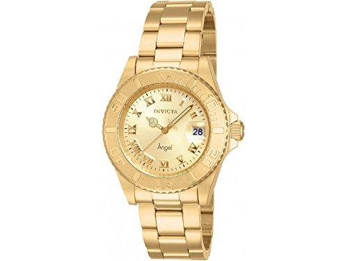 INVICTA WOMEN'S ANGEL 40MM GOLD-TONE STEEL BRACELET & CASE QUARTZ WATCH 14321