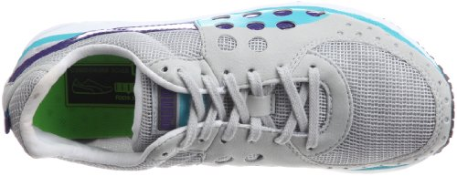 Puma FAAS Sneakers in Grau-Türkis Weiß