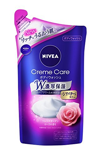 Nivea cream care body wash French rose for refilling 360ml Japan