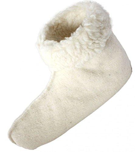 Sonia Originelli Hüttensocken Schuhe Überzug Wärme Socke Teddyfell Größe Damen