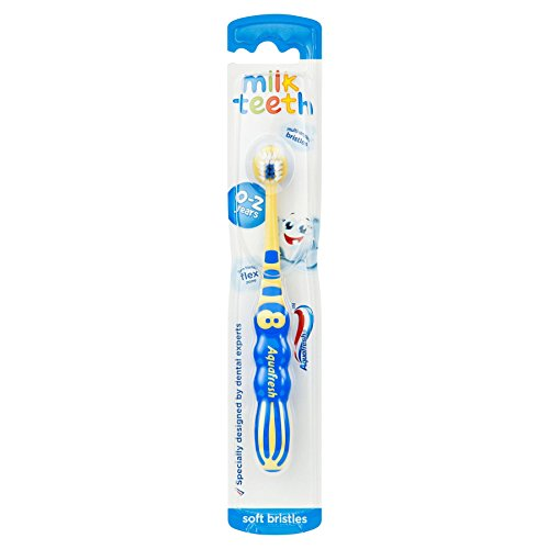 12 x Aquafresh childs toothbrush Milk Teeth (Kids Aquafresh)