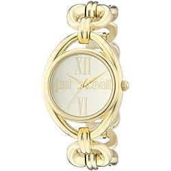 Just Cavalli Damen-Armbanduhr Drop Analog Edelstahl beschichtet R7253182501