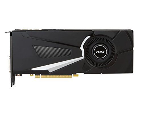 MSI GeForce GTX 1070 AERO 8G 1920 Cuda Core PCIE 3.0 8 GB GDDR5 256-Bit Graphics Card - Black
