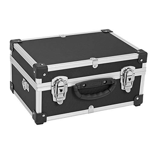 Aluminiumkiste Werkzeugkiste Lagerbox Leergewicht 2600g VARO Farbe schwarz ()