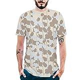 ZARLLE-Camisa Camiseta Divertida Verano Unisex 3D para niño para Hombres Camiseta Estampada Camiseta Manga Corta Tops Hombres Talla Extra