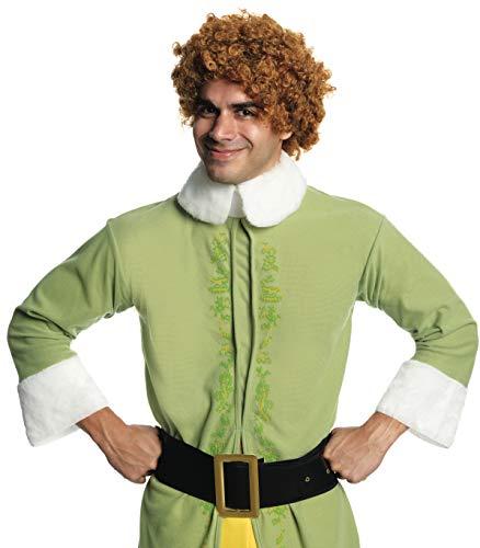 Rubie's Buddy The Elf Wig Standard (Buddy Elf Für Erwachsenen Kostüm)