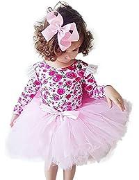 LOVELYOU Bambino Ragazze di Natale Anno Nuovo Caldo Pigiami Primavera Ed  Estat Toddler Kids Neonata Vestiti da Abito da Festa per La… 449ccd992eb
