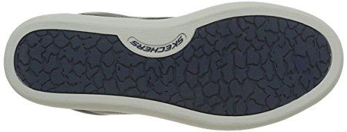 Skechers Palen - Chaussures à Lacets Homme Bleu (Nvy Marine)