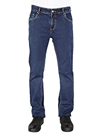 Flags Dark Blue Stretch Slim Fit Men's Jeans