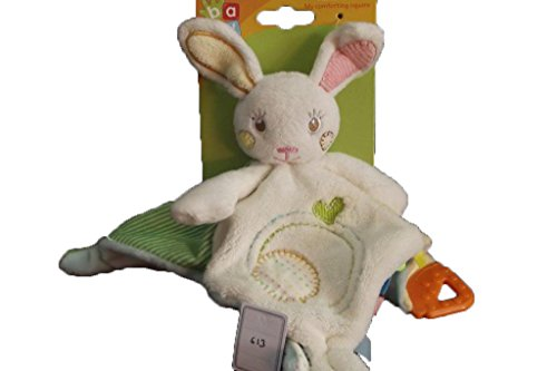 doudou-auchan-conejo-plana-blanco-verde-rayure-corazon-naranja-denticion