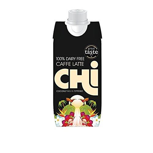 CHI Coconut Schokoladen Kokos Milch - Laktosefrei, 12er Pack (12 x 330 ml) (Grace Coconut)
