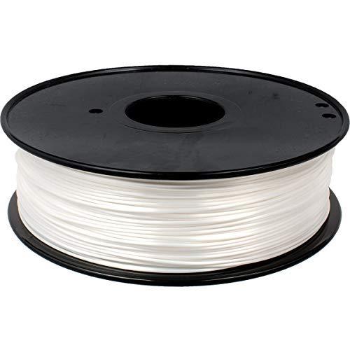 GEEETECH PLA filament 1.75mm Silk Bianca, 3d filament PLA Per Stampante 3D 1kg spool