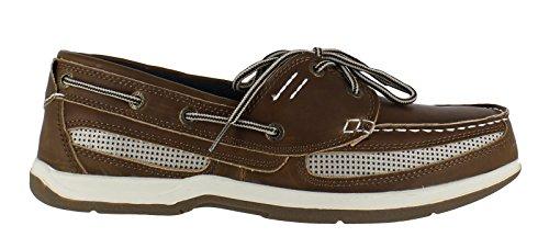 Island Surf  Cod, Chaussures bateau pour homme Marron marron 40 2/3 Marron - marron