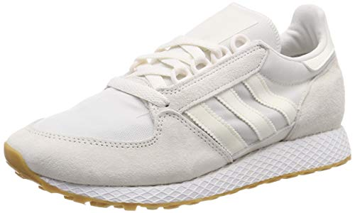adidas Forest Grove Zapatillas de Gimnasia Hombre, Blanco (Cloud White/Cloud White/Ftwr White Cloud White/Cloud White/Ftwr White), 39 1/3 EU (6 UK)