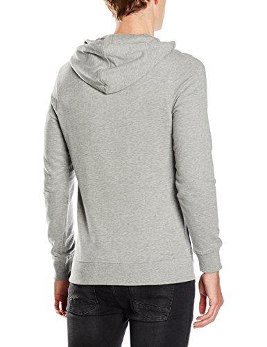 JACK & JONES Herren Kapuzenpullover JORWIND Sweat Hood NOOS, Grau (Light Grey Melange Fit:reg), XL