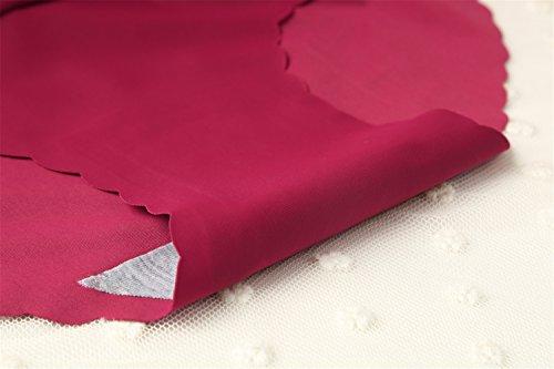 Coepoch - Slip -  donna Purplish Red