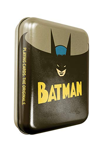 Cartamundi DC Comics Batman - Juego de Cartas en Lata con Relieve, Metal