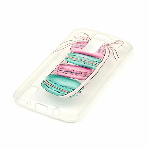 iPhone 6 6S 4.7' Cover Cristallo Custodia Case Silicone Ultra Sottile Cassa Caso Bumper Housing conchigliaTrasparente Morbido TPU Gel Shell guscio JINCHANGWU Anti-Graffio Antiurto-- Lunicorno lovely  Ad01