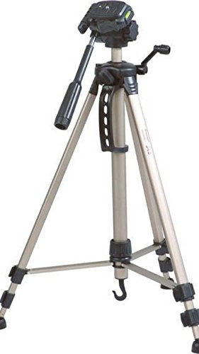 Simpex 3600 hevy duty 5'5'' tall video and photo tripod, Made with aluminium material (Bronze Colour) Free a carry case + USB LED Light  available at amazon for Rs.2215