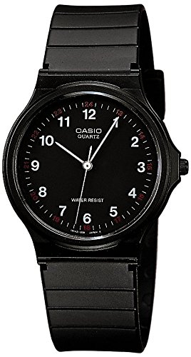 Casio Collection – Reloj Hombre Correa de Resina MQ-24-1BLLGF