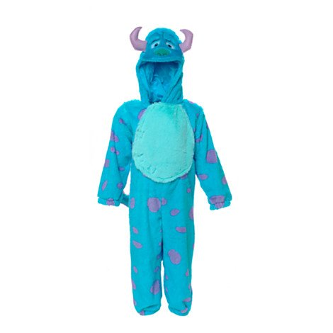 Authentische Vorlage Disney Store - Sulley - Kostüm für Kinder - 12 - 18 Monate