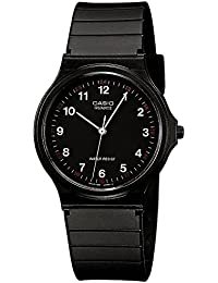 Casio Collection Unisex-Uhr Analog Quarz mit Resinarmband – MQ-24-1BLLGF