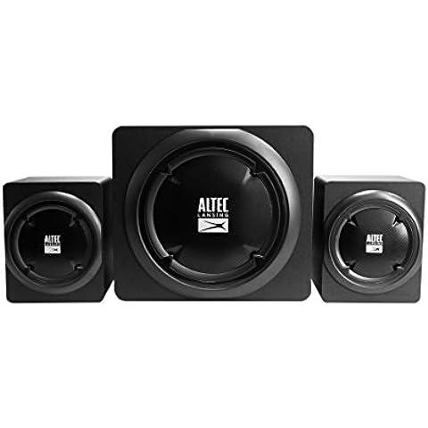 Altec Lansing HELIX 2.1 Speakers 39W - Altavoces (Corriente alterna, Mesa/estante, PC, Satélite, Alámbrico, 3,5