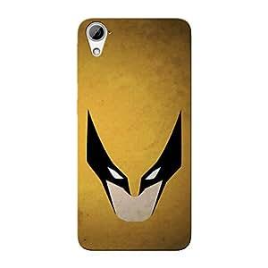 Abhivyakti Comic Superhero Batman Gold Hard Back Case Cover For HTC Desire 826