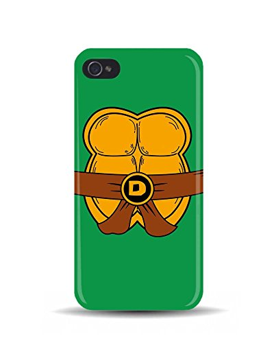 "iPhone 5/5S Nature Tortue Ninja Donatello Costume ""3D Coque téléphone portable"