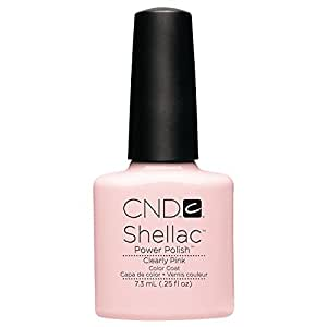 CND Shellac Vernis Gel Clearly Pink 7,3 ml