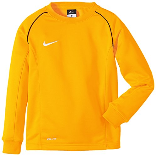 NIKE T-shirt à manches longues Found 12Couche intermédiaire Doré University/noir/blanc