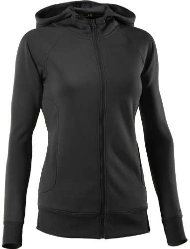 Under Armour Damen Sweatjacke AF Storm FZ Hoody,schwarz (1), XS (Semi Jacke Fitted)