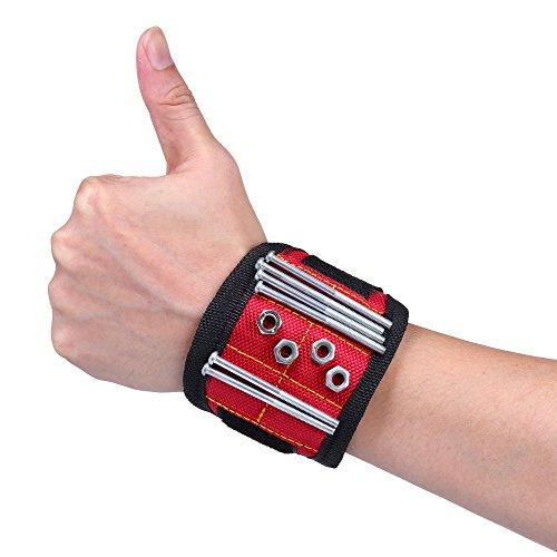 elenker-magnetarmband-fur-metallische-schrauben-nagel-bolzen-usw-rot-29x8cm