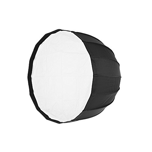 Andoer tragbar Soft Parabol Notebook Softbox für Bowens Mount Studio Flash Light - Studio Flash Mount
