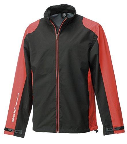 WILSON Herren Rain Jacket Mens Performance Black_WGA700181L_Black_L