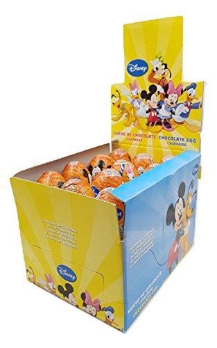 Disney - Mickey, Minnie y sus amigos - Huevos de chocolate con sorpresa - 24 unidades