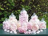 sweets desire Süßigkeitengläser aus Kunststoff, 12 verschiedene Gläser