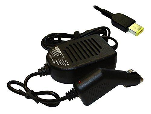 Power4Laptops Lenovo ThinkPad E455, Lenovo ThinkPad E460, Lenovo ThinkPad E465, Lenovo ThinkPad E470, Lenovo ThinkPad E475 kompatibles Netzteil/Ladegerät (Gleichstrom) fürs Auto