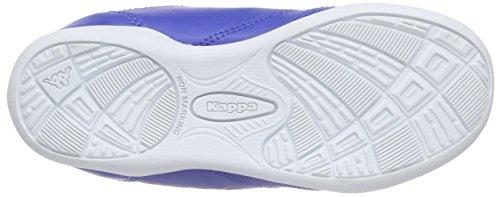 Kappa - Kick K, Scarpe da ginnastica Unisex – Bambini Blu (Blau (6044 BLUE/ORANGE))