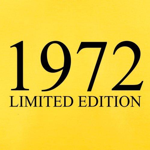 1972 Limierte Auflage / Limited Edition - 45. Geburtstag - Herren T-Shirt - 13 Farben Gelb