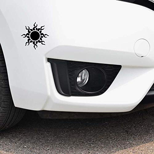 Stukk Stickers Godsmack Tribal Sun Symbol Auto Fenster Stoßstange Vinyl Aufkleber 14,7 cm x 14,7 cm - Schwarz