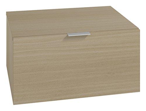 LOWE Muebles Uno Módulo cajones combinable, Melamina Roble poro, 45 x 47 x 30 cm