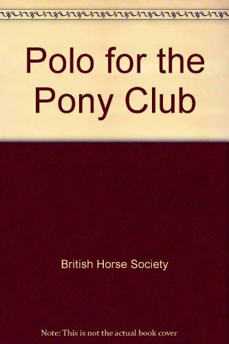 Polo for the Pony Club -