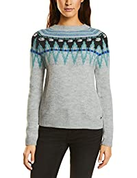 Street One Women's Pullover with New Norwegian P Attern Jumper