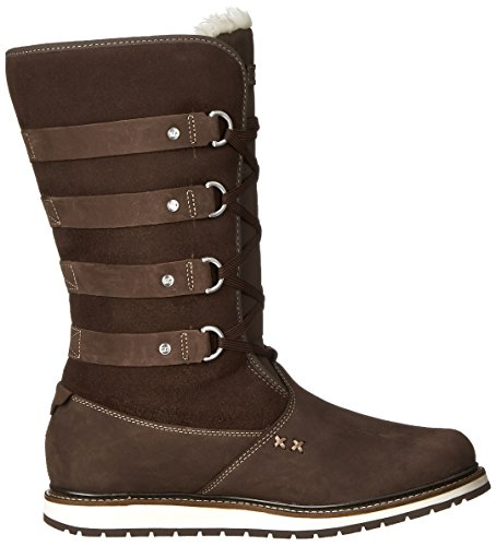 Helly Hansen  W Hedda, Bottes de protection femme Marrón oscuro (Coffe Bean/Woodsmoke)