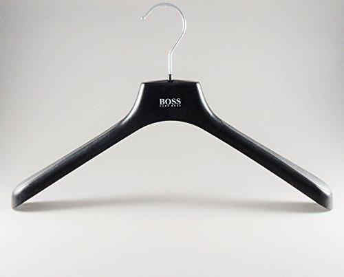 elbügel, Jacketbügel, schwarz, 40cm, 10 Stück (St Elder)